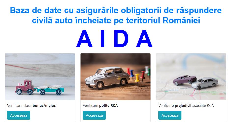 AIDA – noua baza de date privind politele RCA